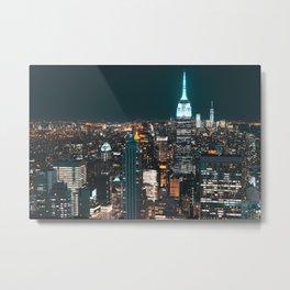 New York...The City of Dreams Metal Print