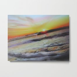 'Ocean Infinity' Metal Print