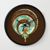 welcome Wall Clocks featuring Welcome to My World by Enkel Dika