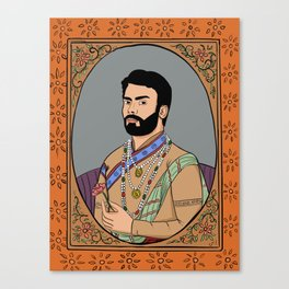 Fawad Khan Canvas Print