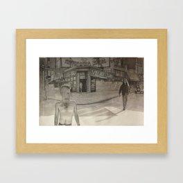 Christopher Street Framed Art Print