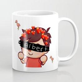 Albert Flamingo Coffee Mug