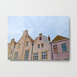 Windows, Dutch Version Metal Print
