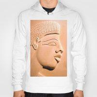 egyptian Hoodies featuring Egyptian Beauty by Brian Raggatt