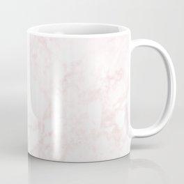 A Blush Pink Elegant Marble Coffee Mug