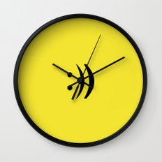 repeat the happiness Wall Clock