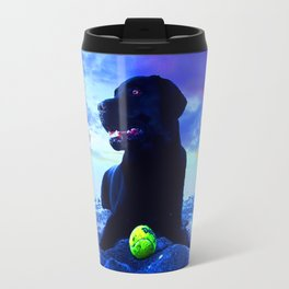 Ziggy Black Labrador Travel Mug