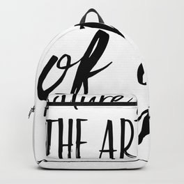 Nature Is The Art Of God   Cherry Blossom Backpack