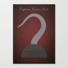 Captain James Hook | Villains do It Better Canvas Print