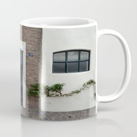 door Mugs featuring Door by Marieken