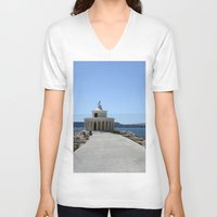 lighthouse V-neck T-shirts featuring Lighthouse by L'Ale shop