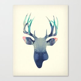 El Venado Azul Canvas Print