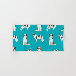 Border Collie dog breed gifts collies herding dogs pet friendly Hand & Bath Towel