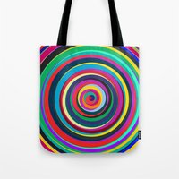 circus Tote Bags featuring CIRCUS by THE USUAL DESIGNERS