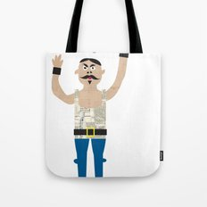 The Strongman from the circus Tote Bag