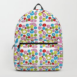 Circle and abstraction 4-abstraction,abstract,geometric,geometrical,pattern,circle,sphere Backpack