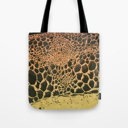 volcanic cells Tote Bag