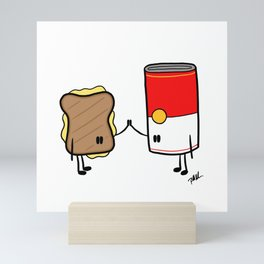 Grilled Cheese + Tomato Soup Mini Art Print