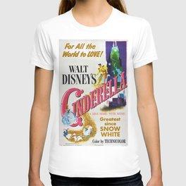 1951 Classic Children's Movie Film Poster T-shirt