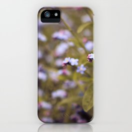 intoxicating flora iPhone Case