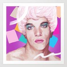 Jonathan Rhys Meyers Art Print