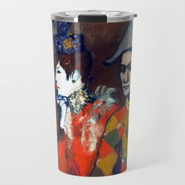 Pablo Picasso At the Lapin Agile Travel Mug