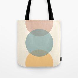 Circle Gradient - Melons Tote Bag
