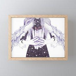 Nightwalker Framed Mini Art Print