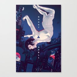 The Ghost In The Shell Canvas Print