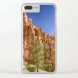 Hoodoos in the Canyon Clear iPhone Case