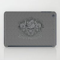 gangster iPad Cases featuring Street Gangster by MaNia Creations