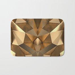 GEOMETRIC GOLD Bath Mat
