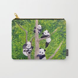 Giant Panda Bears - Hey It's Time To Eat Carry-All Pouch