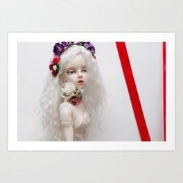 WHITE IS...  Art Print