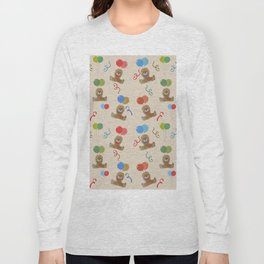 Teddy and Balloons Long Sleeve T-shirt
