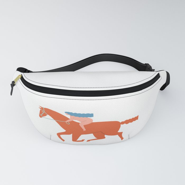 Naked derby Fanny Pack