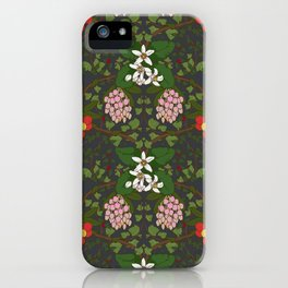 Winter Flowers iPhone Case