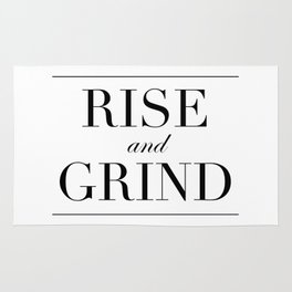 Rise and Grind Rug