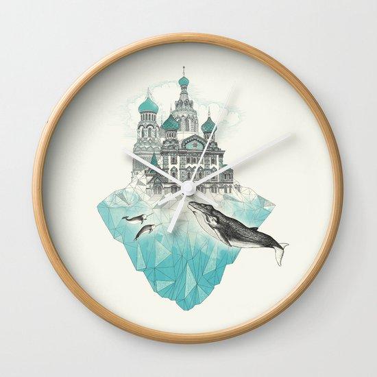 st peters-burg Wall Clock