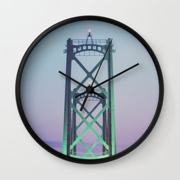 Symmetry of the Span Wall Clock