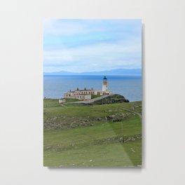 Neist Point Lighthouse, Isle of Skye, Scotland Metal Print