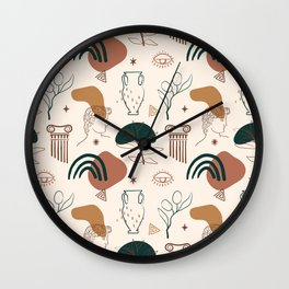 Ancient Greece-Neo Classic Wall Clock