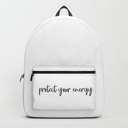 Protect your energy Backpack