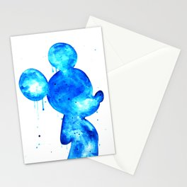 Blue Mouse Stationery Cards