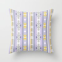 southwest Throw Pillows featuring Southwest by Kara Peters