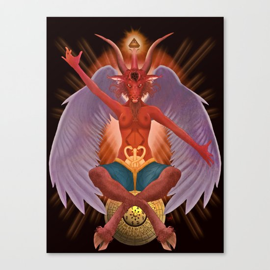 The Baphomet Canvas Print