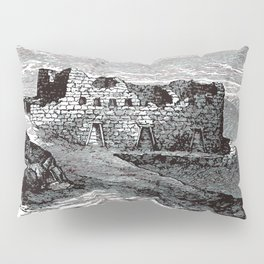Old Peruvian Structure Pillow Sham