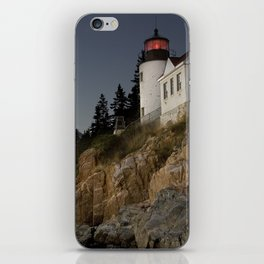 Bass Harbor Head Lighthouse Acadia National Park iPhone Skin