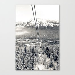 Cable Cars to the Summit of Sulphur Mountain Canvas Print