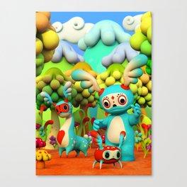 Zupo's Quest Canvas Print